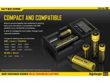 Зарядное уст-во NiteCore Digicharger D2
