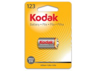 Батарейка Kodak CR123 1500 mAh