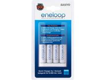 ЗУ с аккумуляторами SANYO eneloop MQR06-E-4-3UTGB